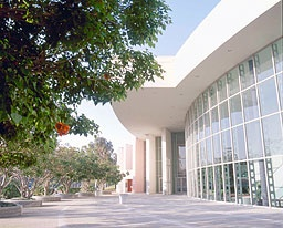 Exterior view of the Carpenter Performing Arts Center