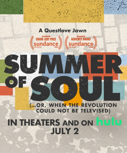 Poster for the documentary Summer of Soul